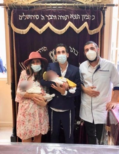 Brit Milah Famille emsalem - Paris 11e